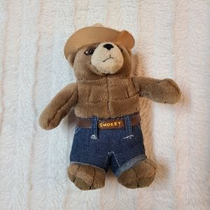 Vintage 1997 Smokey The Bear Plus Stuffed Animal
